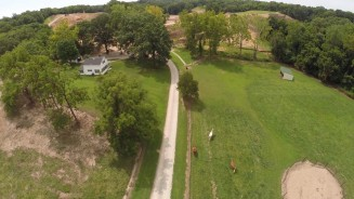 commercial development aerial photography