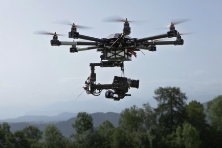 Dragon Red Epic Drone