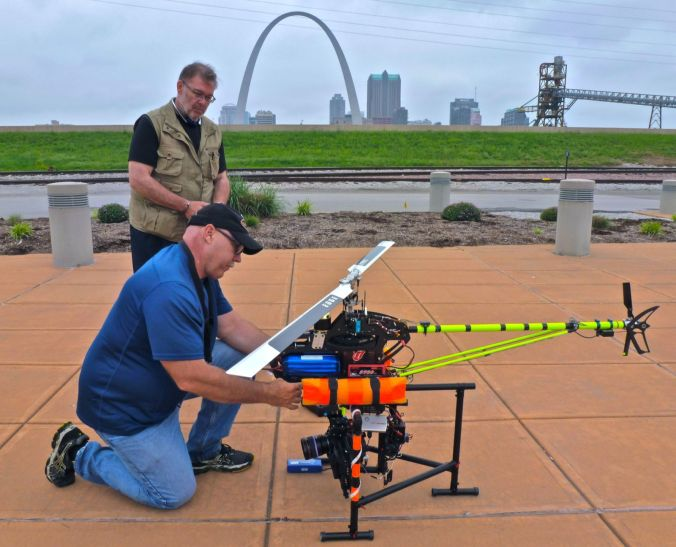Red Epic St Louis Drones