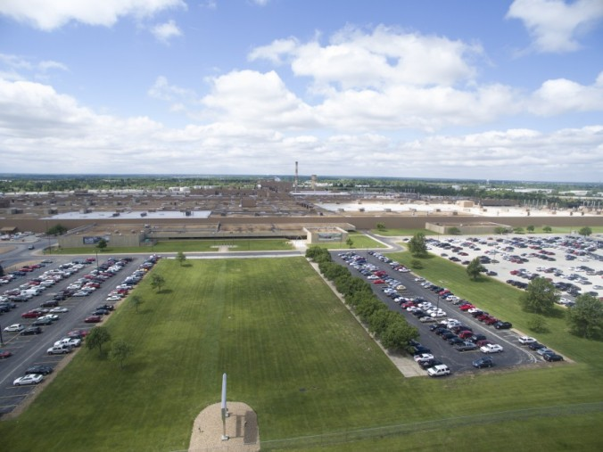 st louis drones aerial photography gm wentzville plant